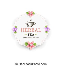 Herbal tea label