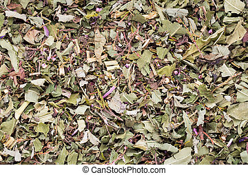 Herbal tea medicinal plants, homeopatic.