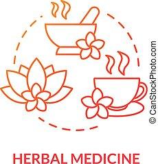 herbalism, naturopathy., traditionell, icon., planterar, rgb...