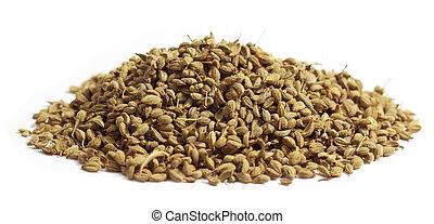 herbario, ajwain, semillas