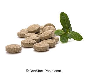herbario, píldoras