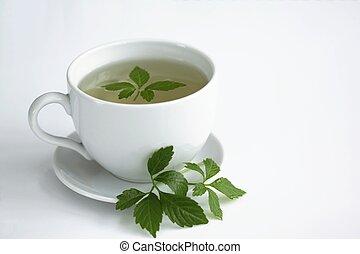 herbata, pentphyllum/, /gynostemma, jiaogulan