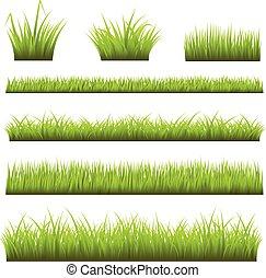 herbe, arrière-plans