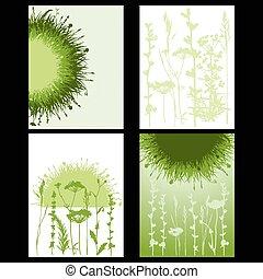 herbe, carte