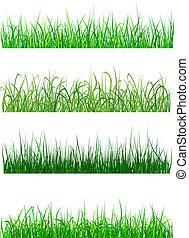 herbe champ, pré, motifs