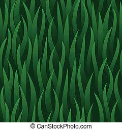 herbe champ, vert, seamless, fond