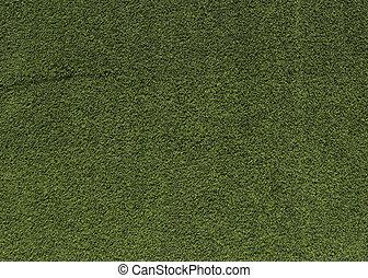 herbe, vert, artificiel, fond, texture