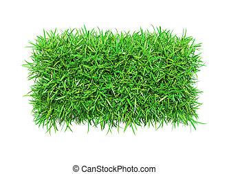 herbe, vert, moins