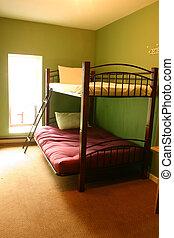herberg, bunk bed