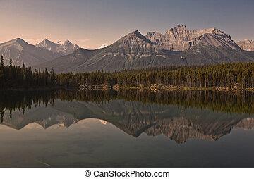 Herbert Lake - Banff National Park - Alberta - Canada