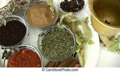 herbier, épice
