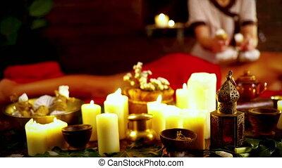 herbier, masage, spa, compresse, thaï, balle