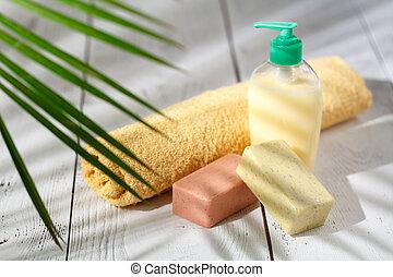 herbier, naturel, peau, produits, soin