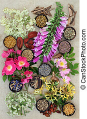 Herbs and Flowers for Health