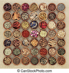 Herbs for Herbal Medicine - Herb selection used in chinese...