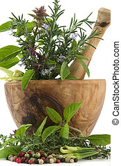 Herbs - Healing herbs, spices, and edible flowers (...