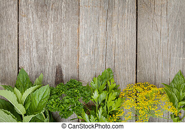 Herbs selection