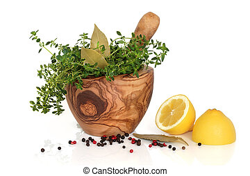 Herbs, Spices and Lemons