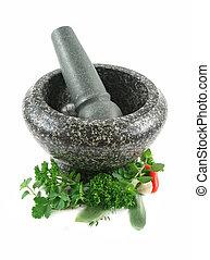 Herbs To Crush