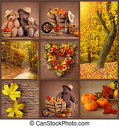 herbst, collage