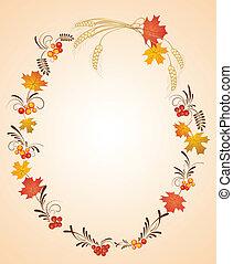 Herbst, Rahmen