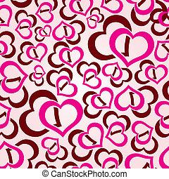herce, láska,  seamless,  eps10, model