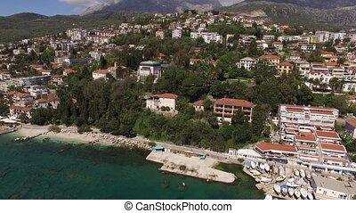 Herceg Novi boat dock, Old Town, Montenegro
