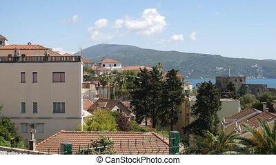 Herceg Novi is a new city, Montenegro, Adriatic