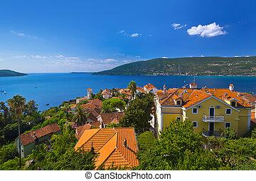 Herceg Novi - Montenegro - nature and architecture background