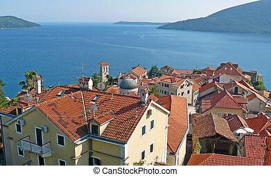 Herceg novi old town, Montenegro