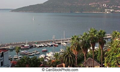 Herceg Novi, port for ships