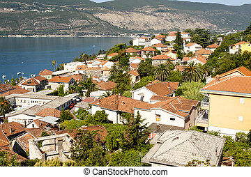 herceg, novi, stad, -, montenegro