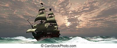herceg, vilmos, hajó