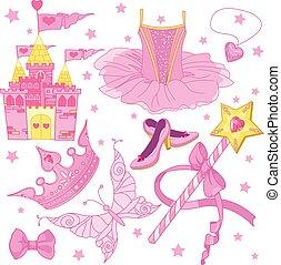 hercegnő, állhatatos, balerina