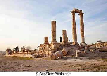 hercules, 寺院