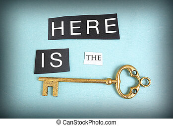 Here is the key