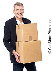 Here is your parcels !