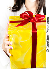 Here is your present