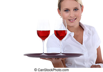 Here is your wine