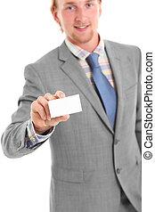 Here take my card!