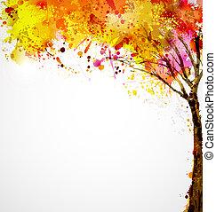 herfst, boompje