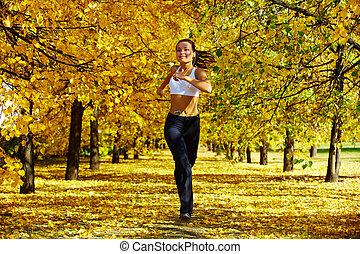herfst, fitness