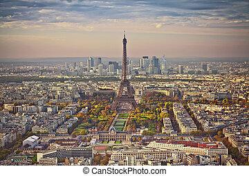 herfst, paris.