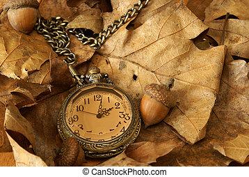 herfst, tijd