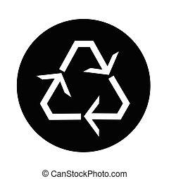 hergebruiken, pictogram