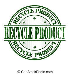 hergebruiken, postzegel, product