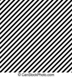 herhalen, model, diagonaal, zwarte achtergrond, gestreepte , witte