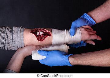 herida, aliño