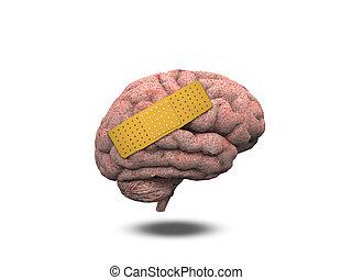 herido, cerebro