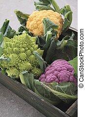 heritage cauliflower